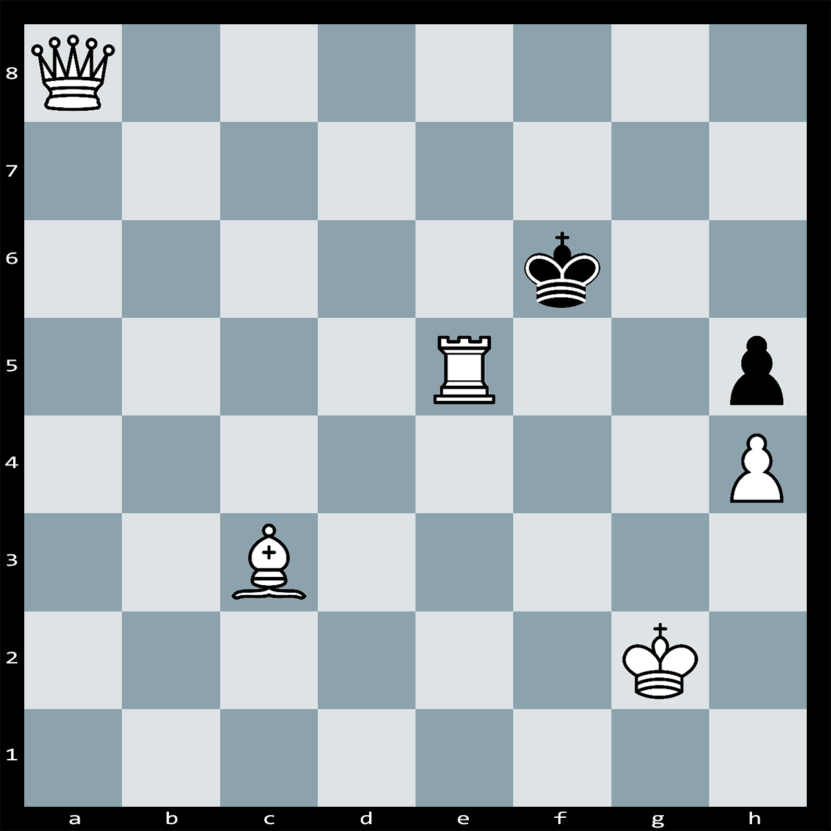 White to Move and Mate in Two - chess puzzle #1
