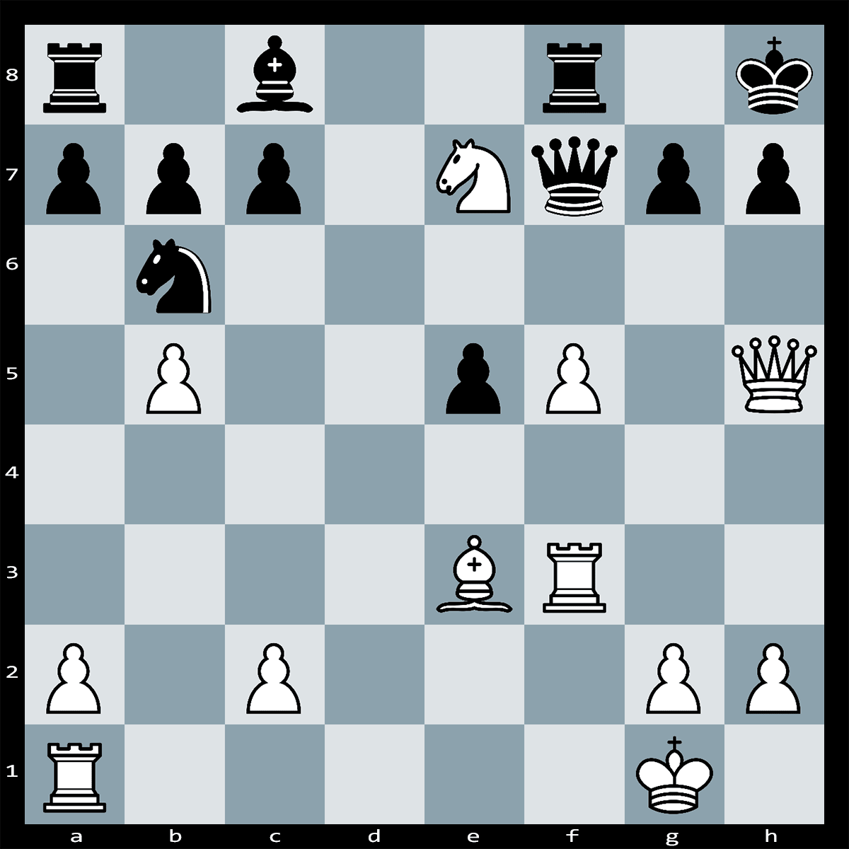 Mate in Three Moves white to Play - Chess Puzzle #14
