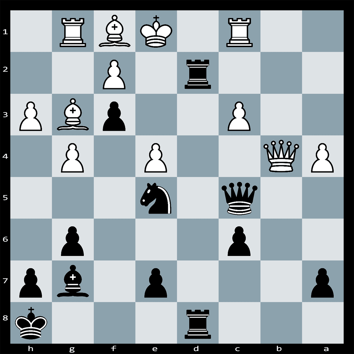 Mate in Three Moves, Black To Play | Chess Puzzle #142