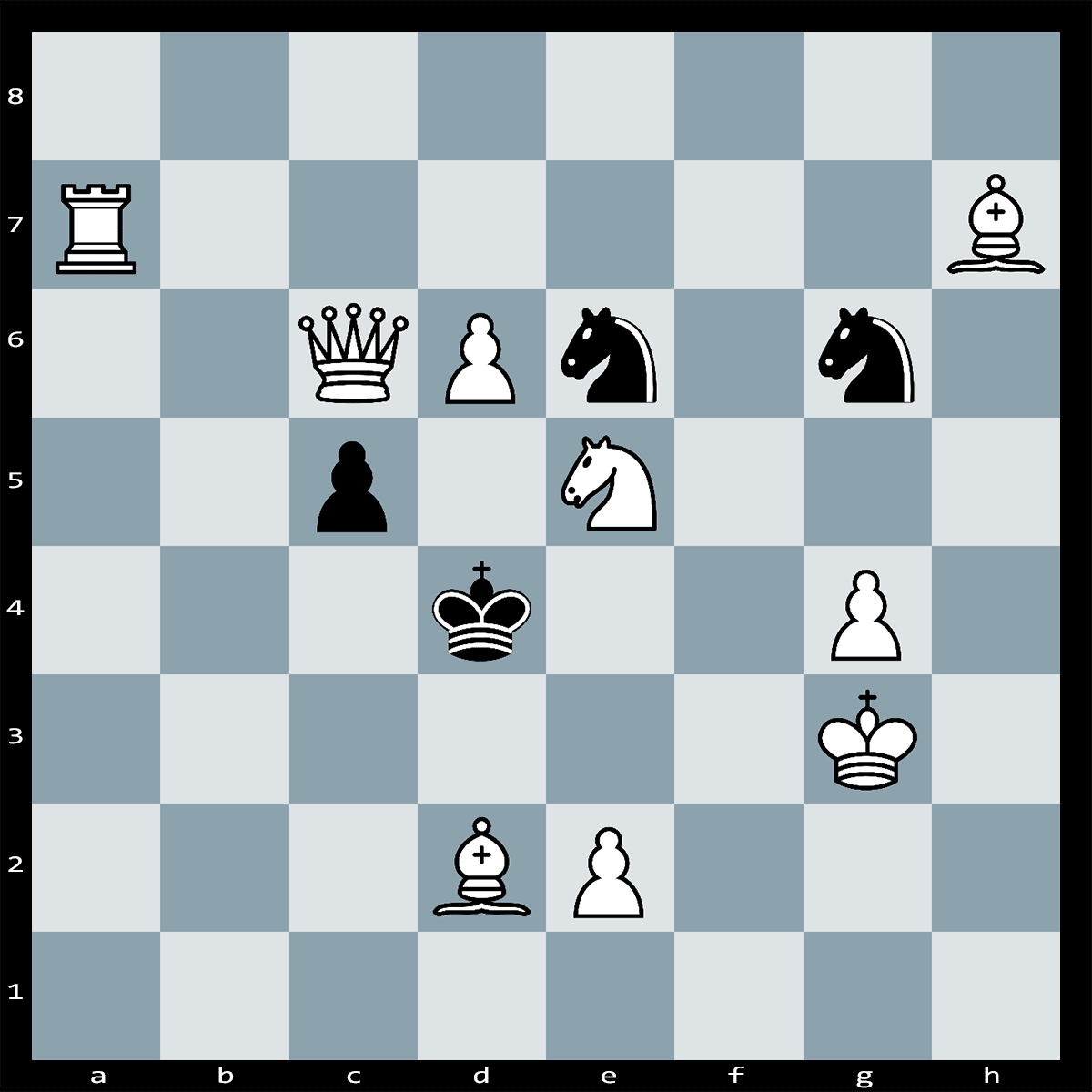 Mate in Two Moves, White to Play | Chess Puzzle #143
