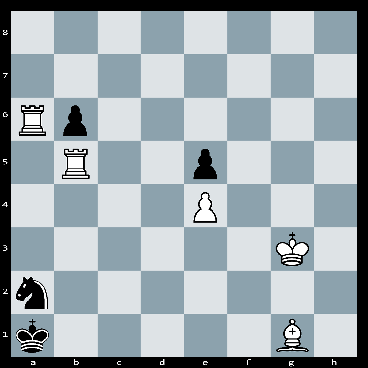 Chess Puzzle #153 - Find checkmate in four moves, white to play.