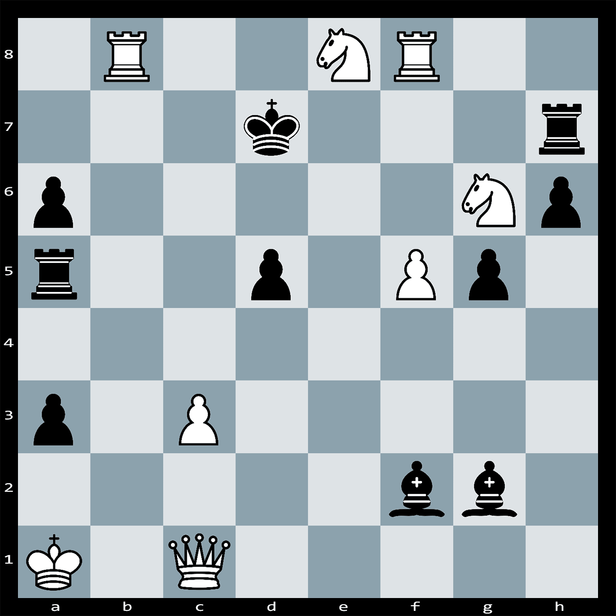Mate in Four moves, White to Play | Chess Puzzle #154