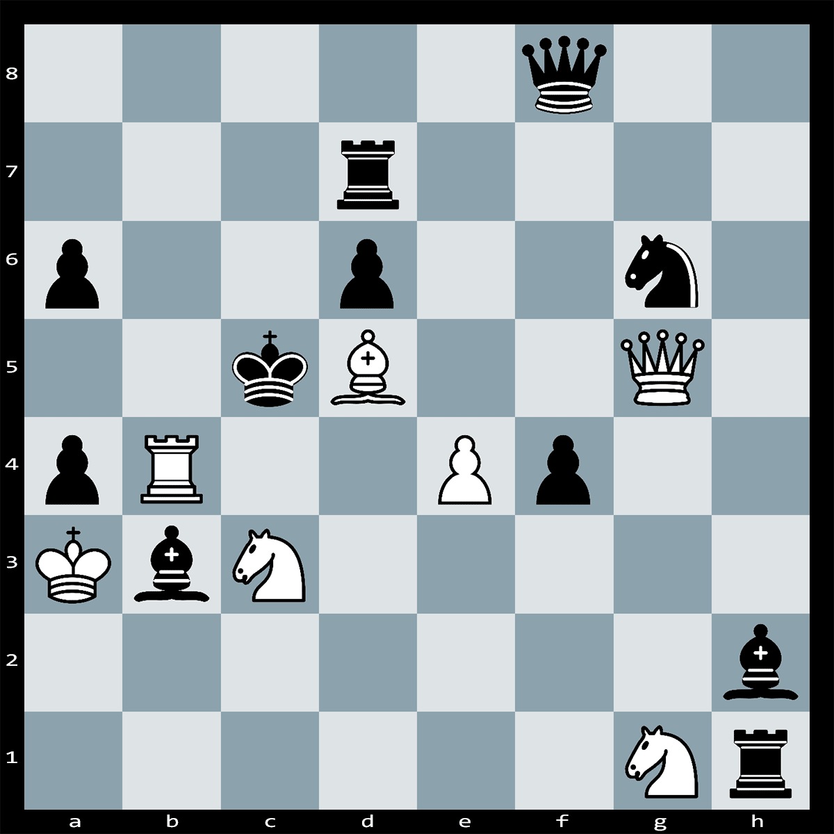 Mate in Four Moves, White to Play | Chess Puzzle #155
