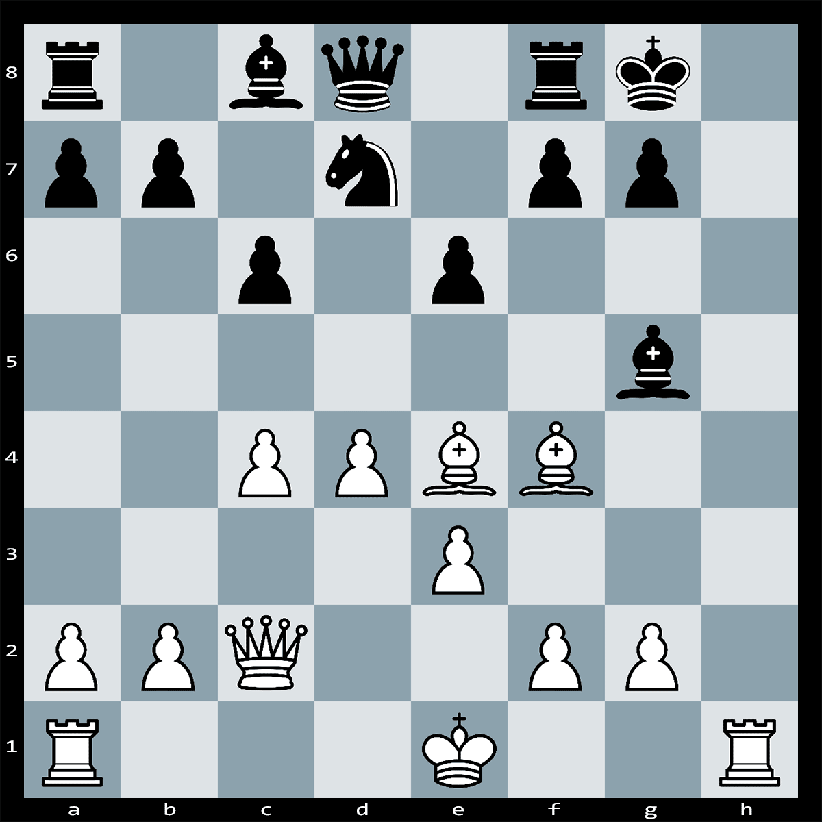Chess Puzzle #157   Find checkmate in three, white to play