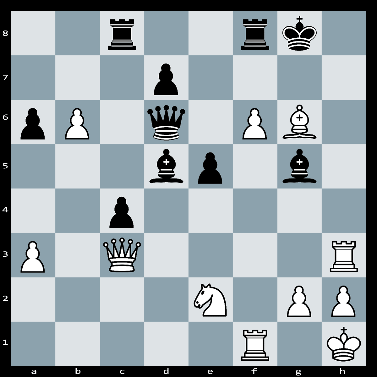 Mate in Four Moves, White to Play | Chess Puzzle #166