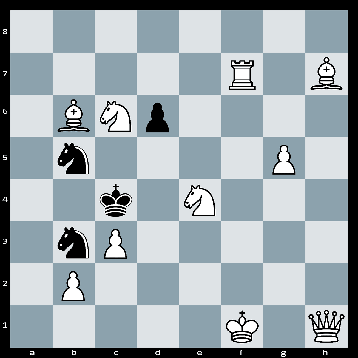Mate in Two Moves, White to Play | Chess Puzzle #179