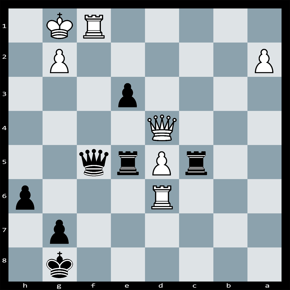 Find the Best Move, Black to Move