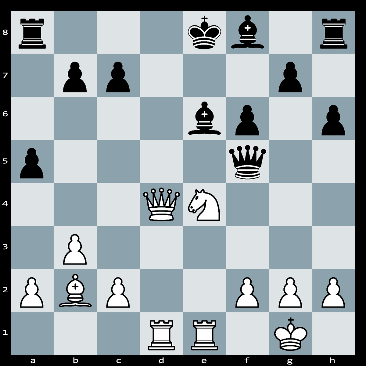 White to Play and Win, Find Checkmate in Five Moves