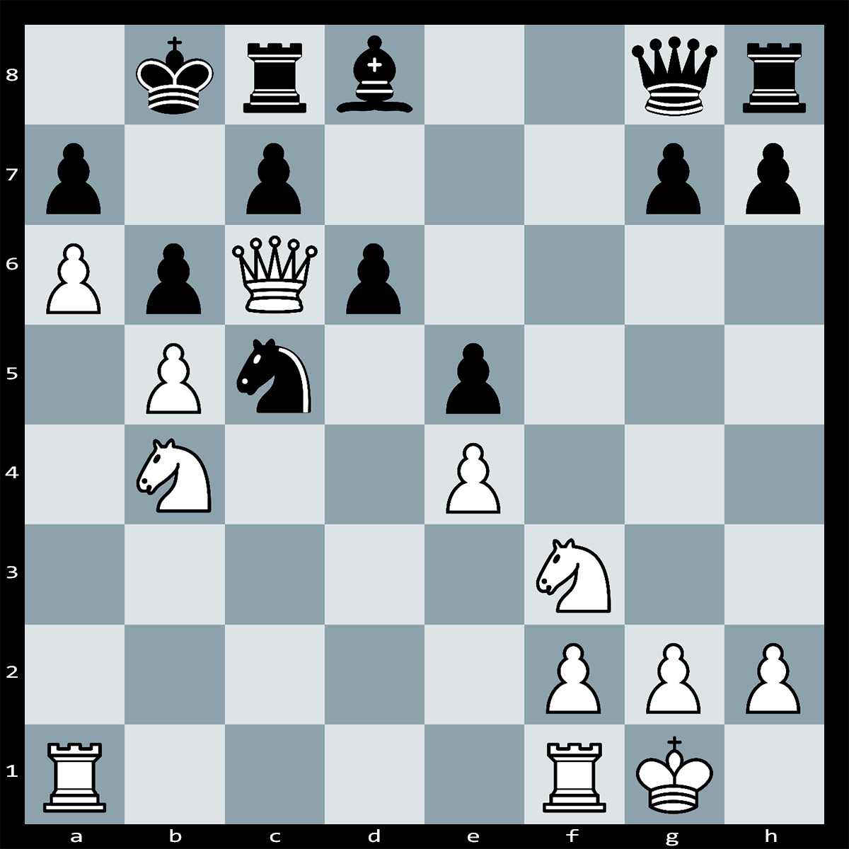 Mate in 4 Moves, White to Play | Chess Puzzle #186