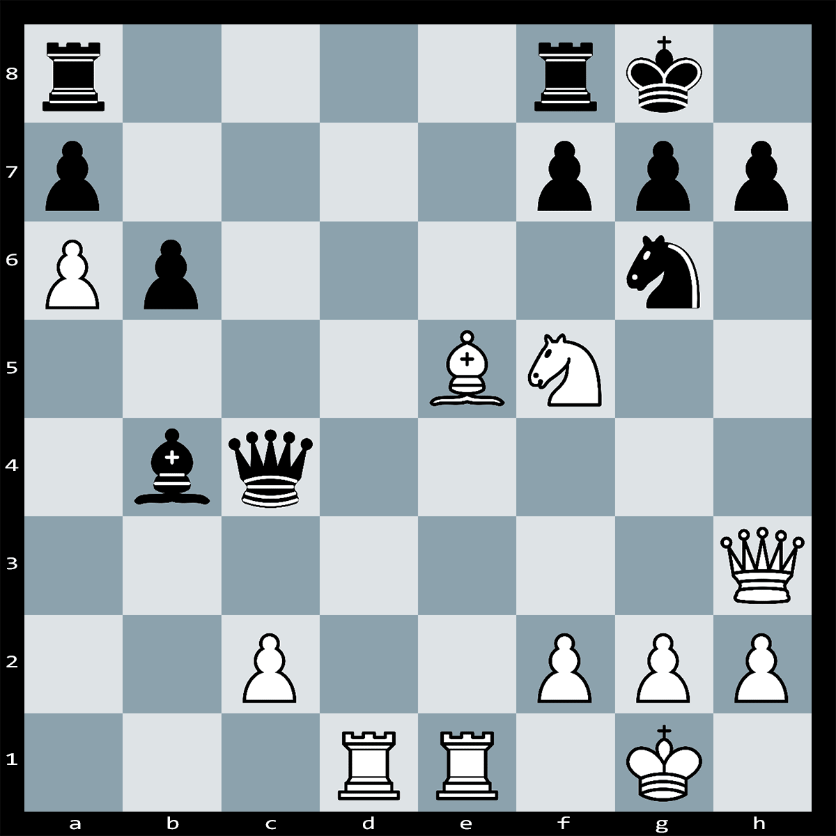 Mate in Three Moves, White to Play | Chess Puzzle #187