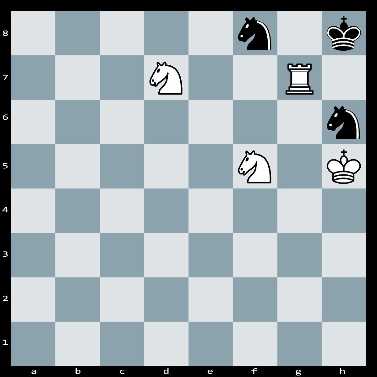 Find checkmate in 2 moves - chess puzzle #2