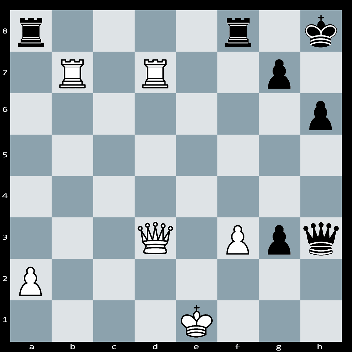 Mate in 4 Moves white to play - Chess Puzzle #20