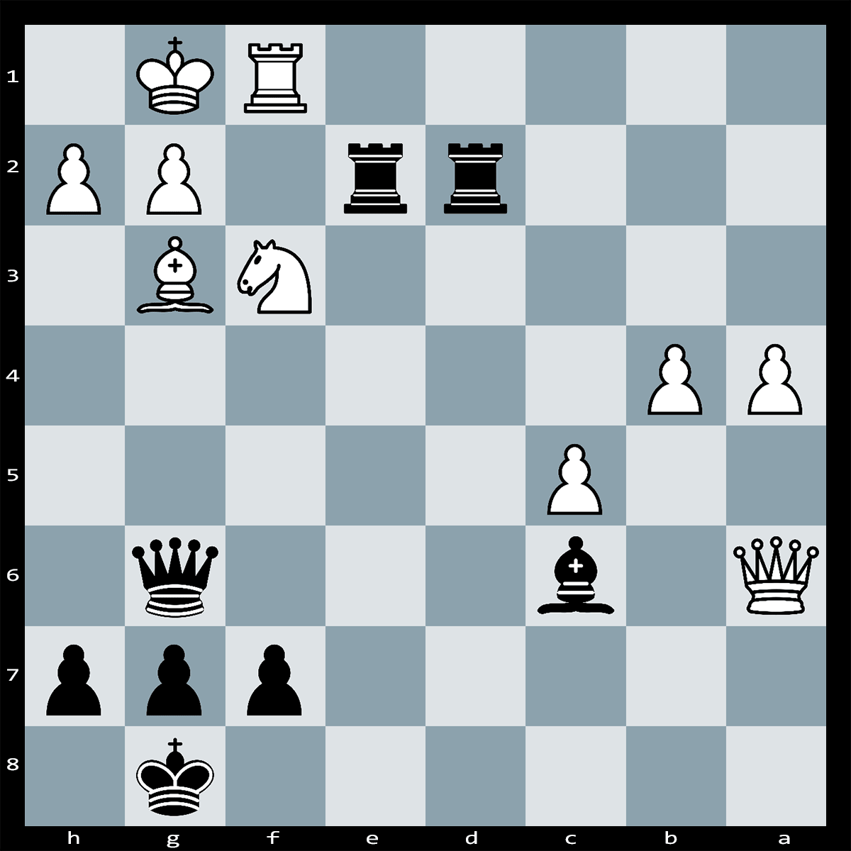 Checkmate in Thee, Black to Play - Westerinen vs Mikhail Tal