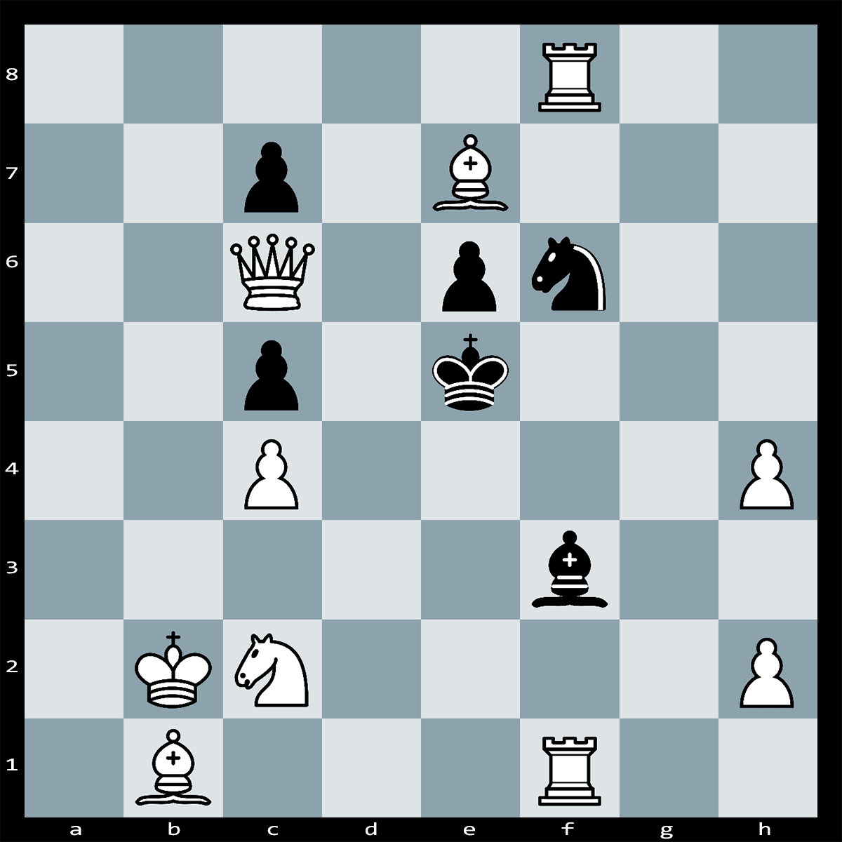 White to Play and Checkmate in Two | Chess Puzzle #204