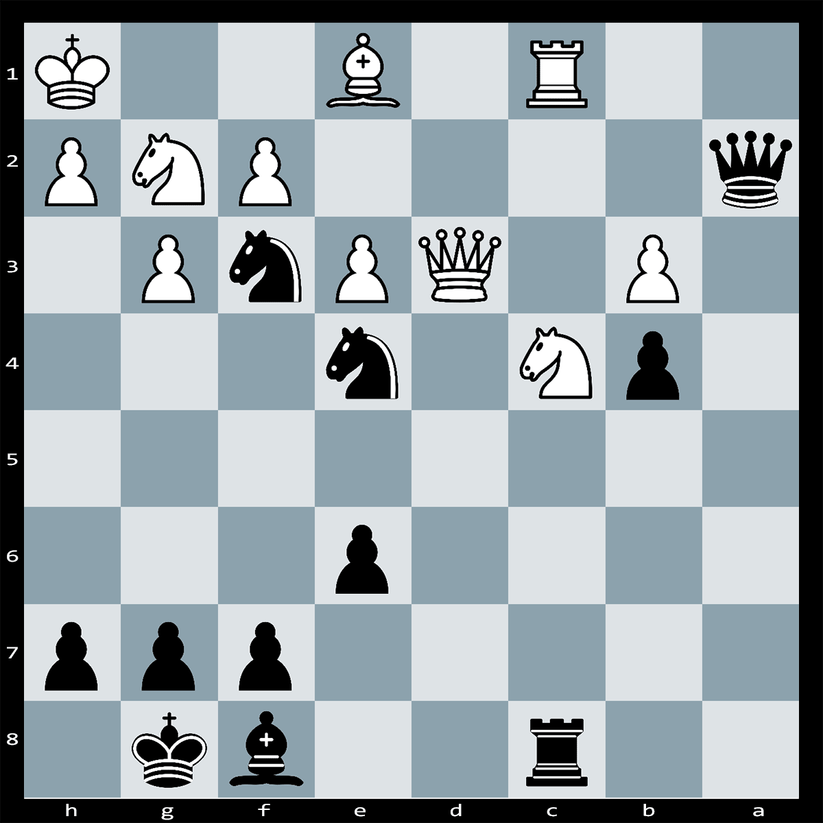 Mate in Three Moves, Black to Play | Chess Puzzle #211