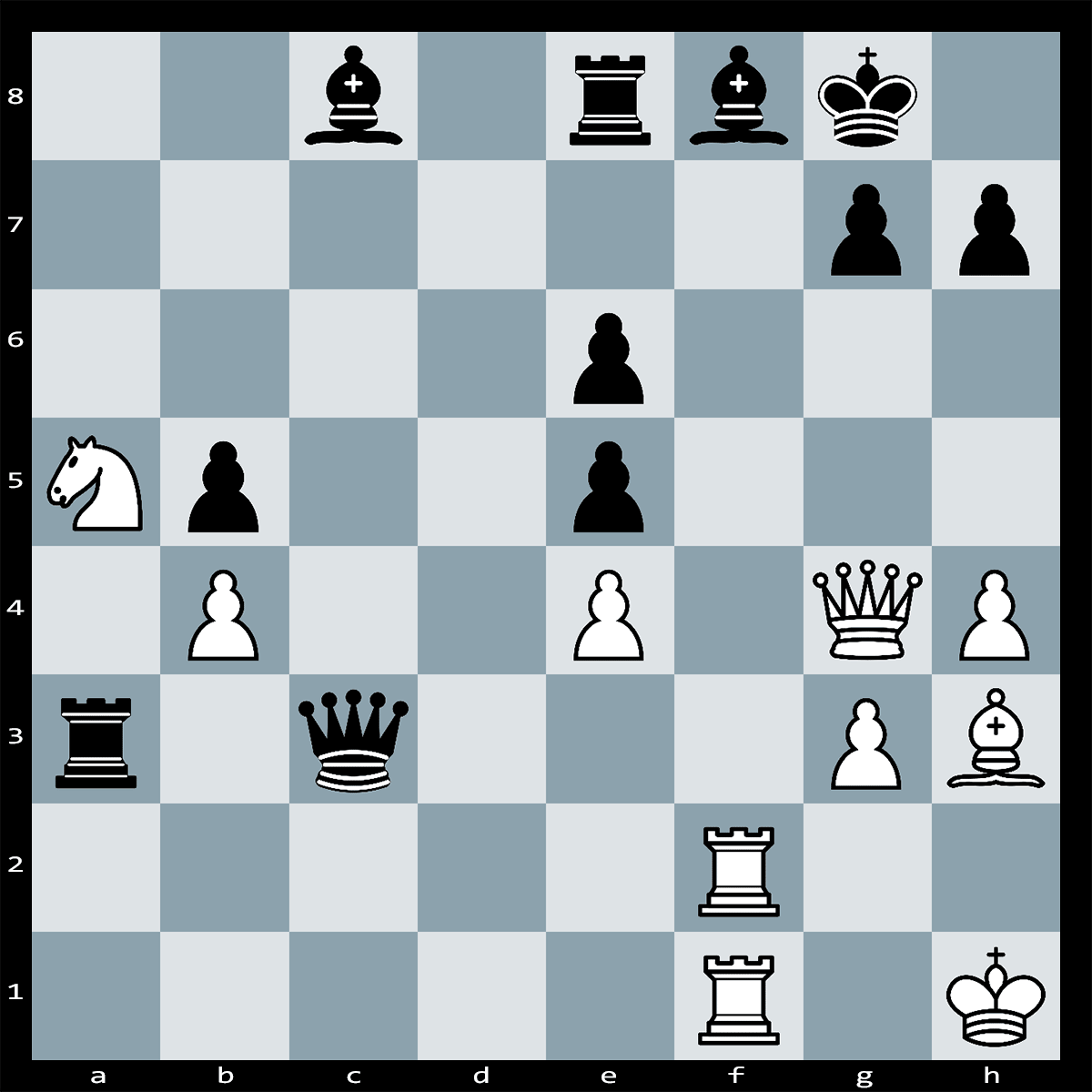 Mate in Four Moves, White to Play | Chess Puzzle #213