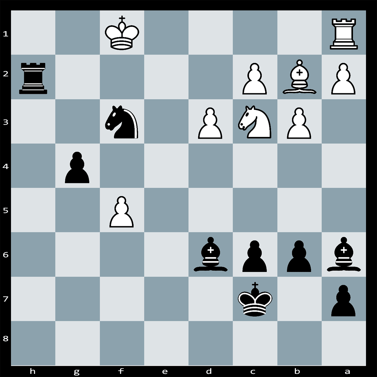 Mate in Five Moves, Black to Play | Chess Puzzle #229