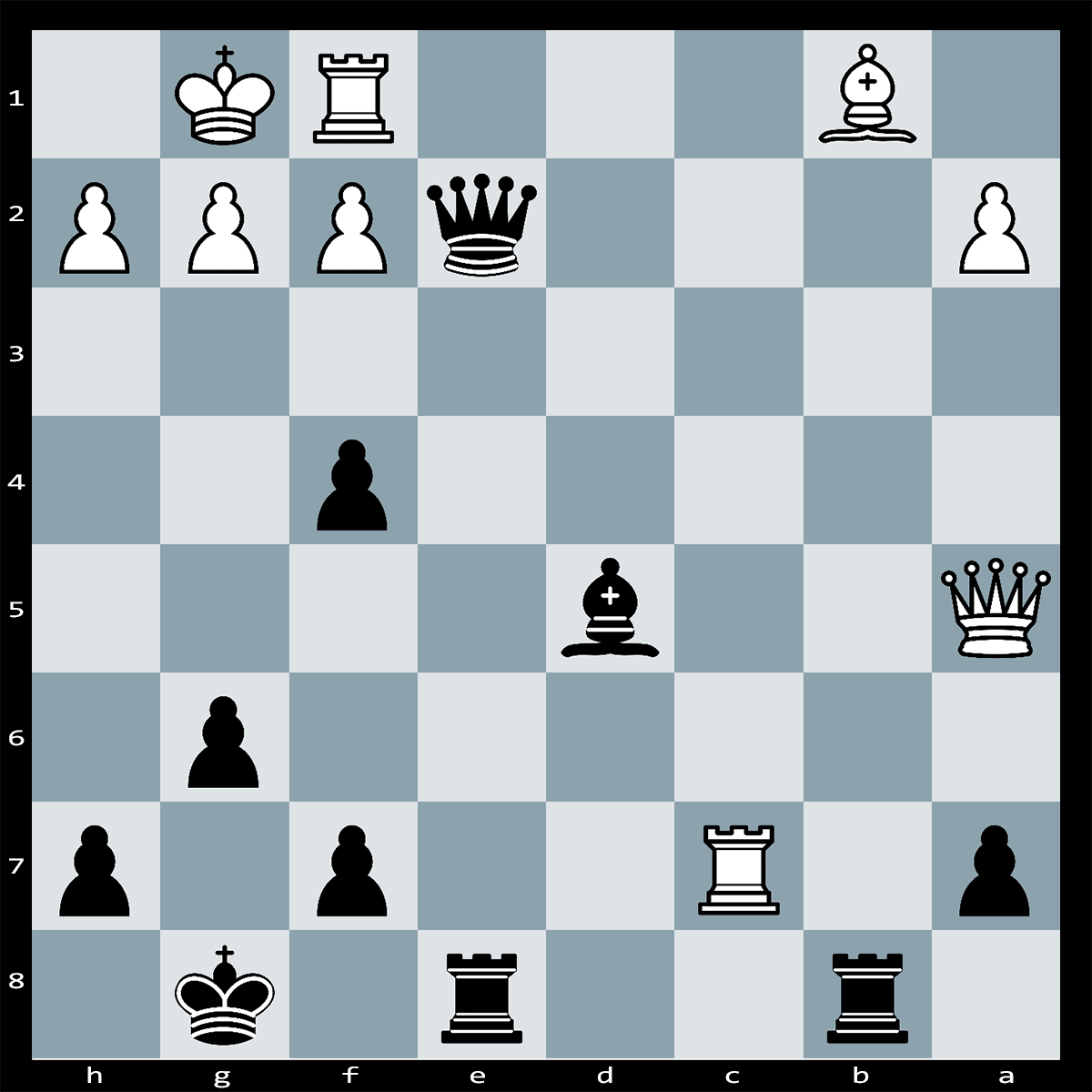 Mate in Four Moves, Black to Play | Chess Puzzle #230