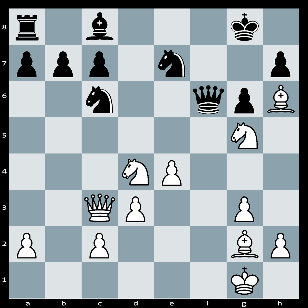 Checkmate in Five Moves, White to Play   Chess Puzzle #235