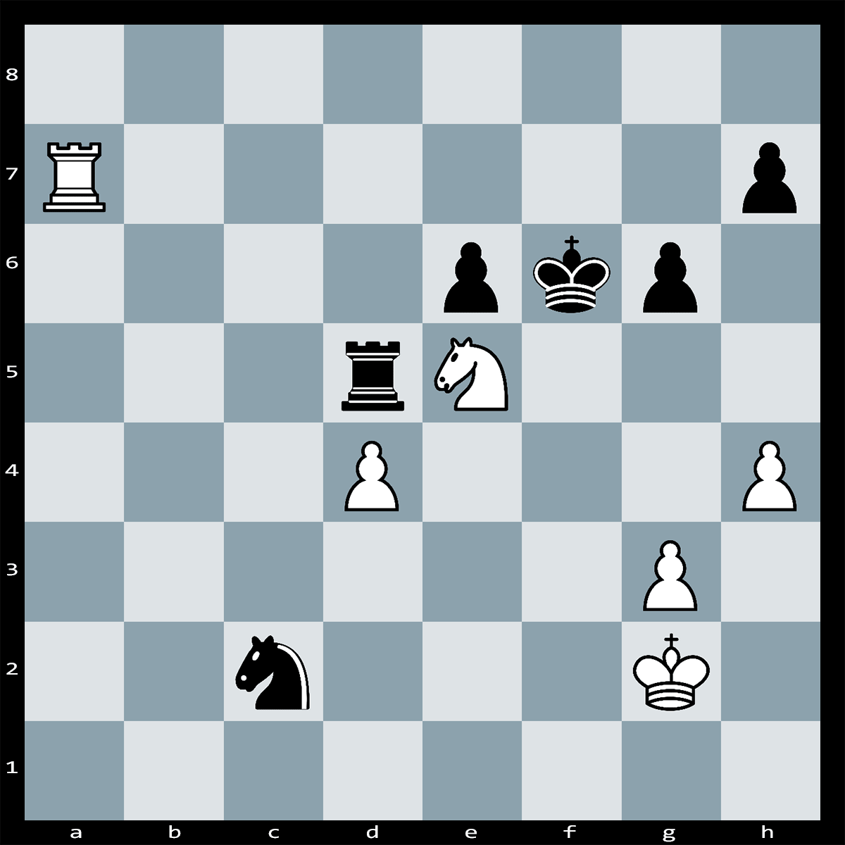 Mate in 1 Move, White to Play | Chess Puzzle #238
