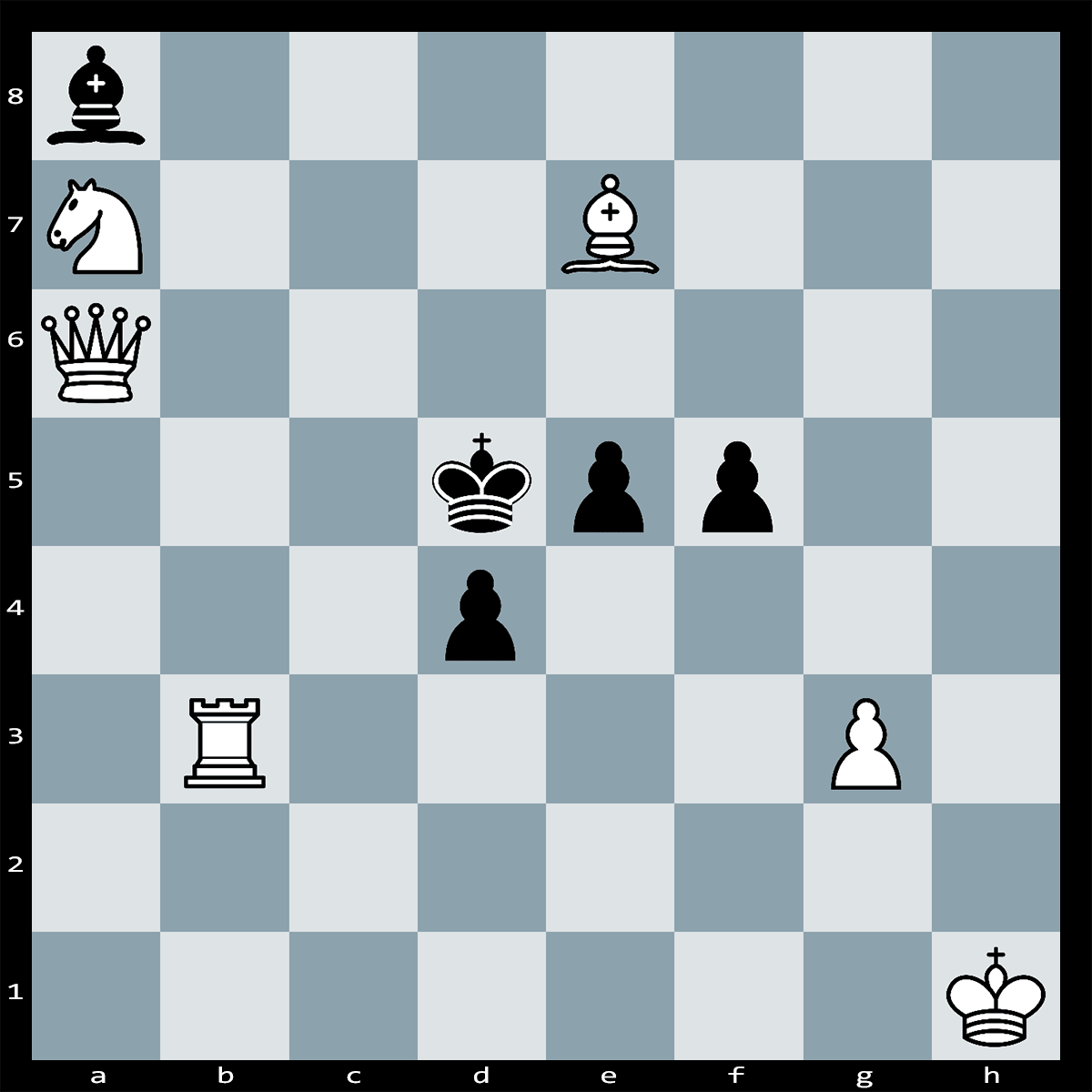 Mate in Two Moves, White to Play - Chess Puzzle #24