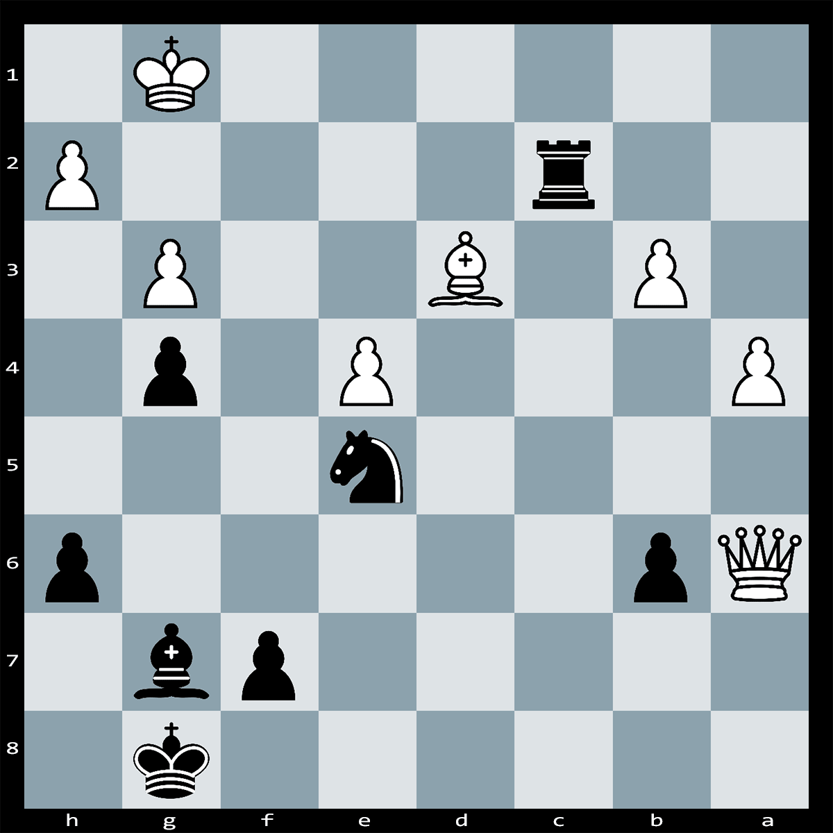 Checkmate in Five Moves, Black to Play | Chess Puzzle #241