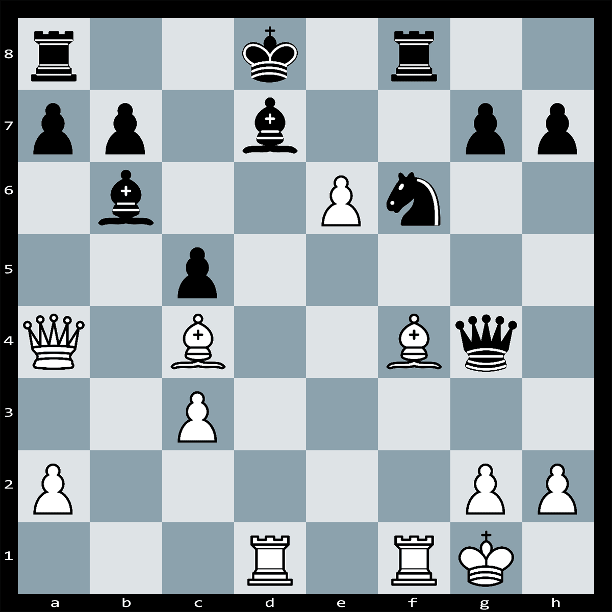 Mate in Three Moves, White to Play | Paul Morphy - J.Thompson New York 1859
