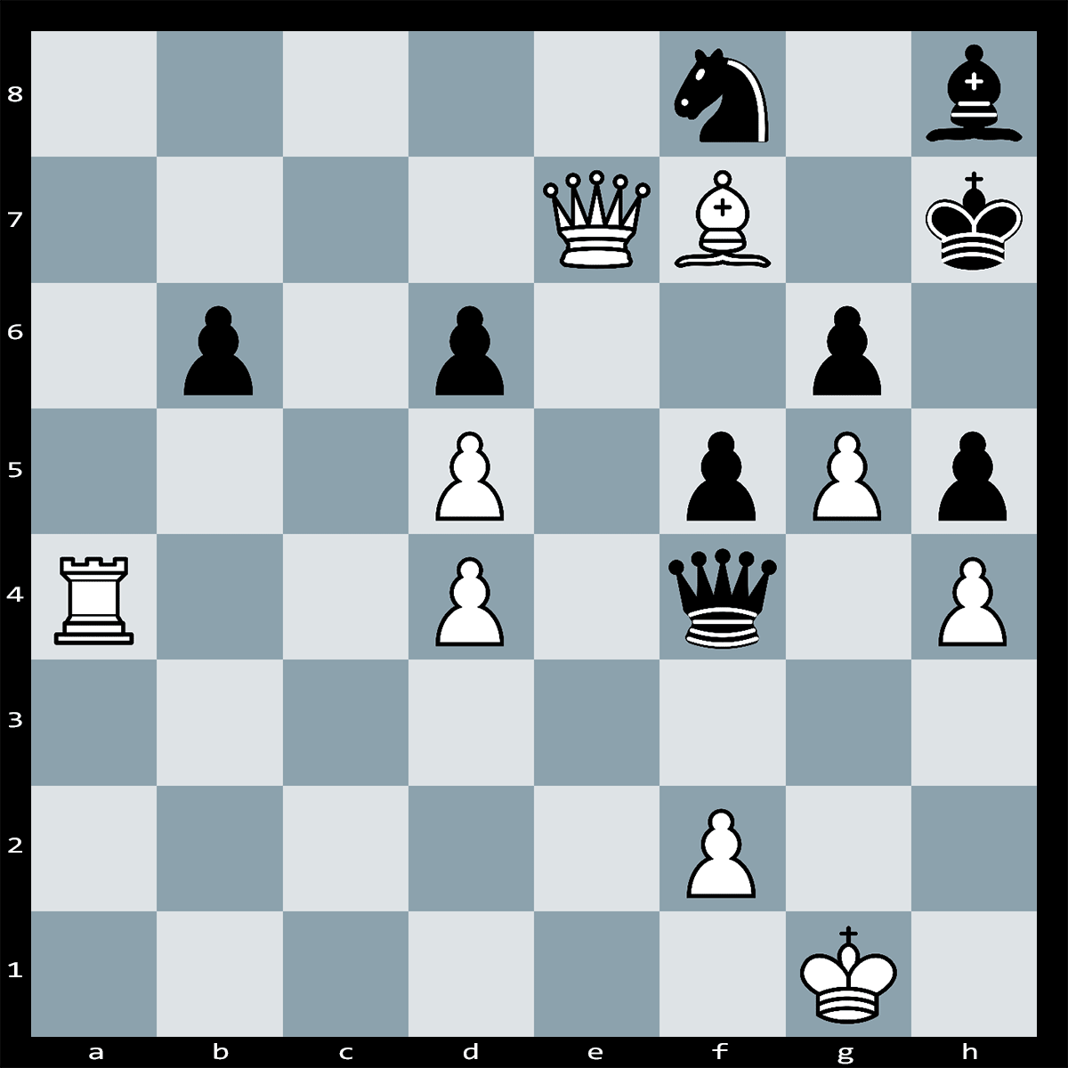White to play and Mate in No More than Six Moves