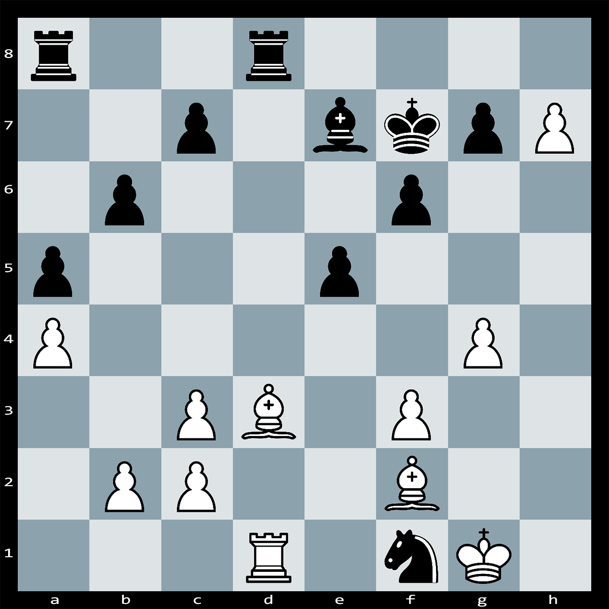 How White Can Take the Advantage of His Passed h-pawn