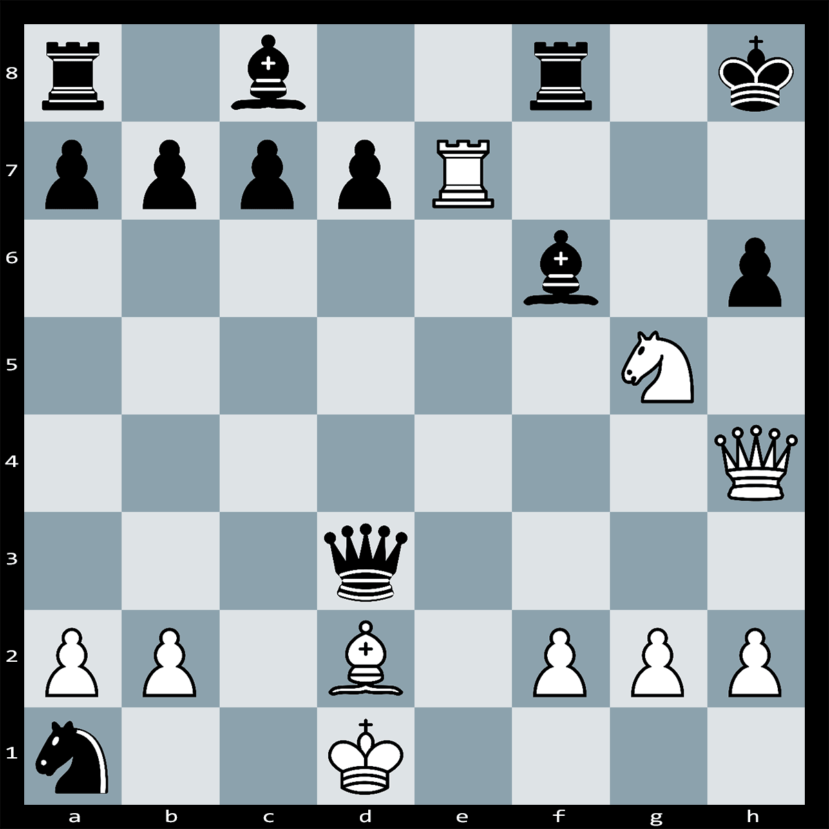 Checkmate in Six Moves, White to Play | Chess Puzzle #263