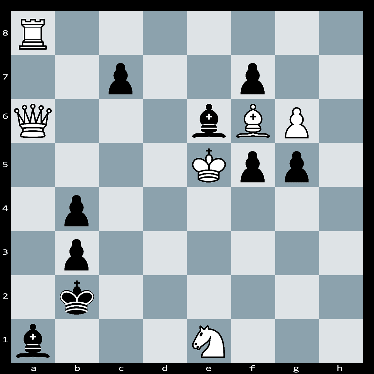 Chess Puzzle #280 | It's White to play and Checkmate in One, What is the winning move?