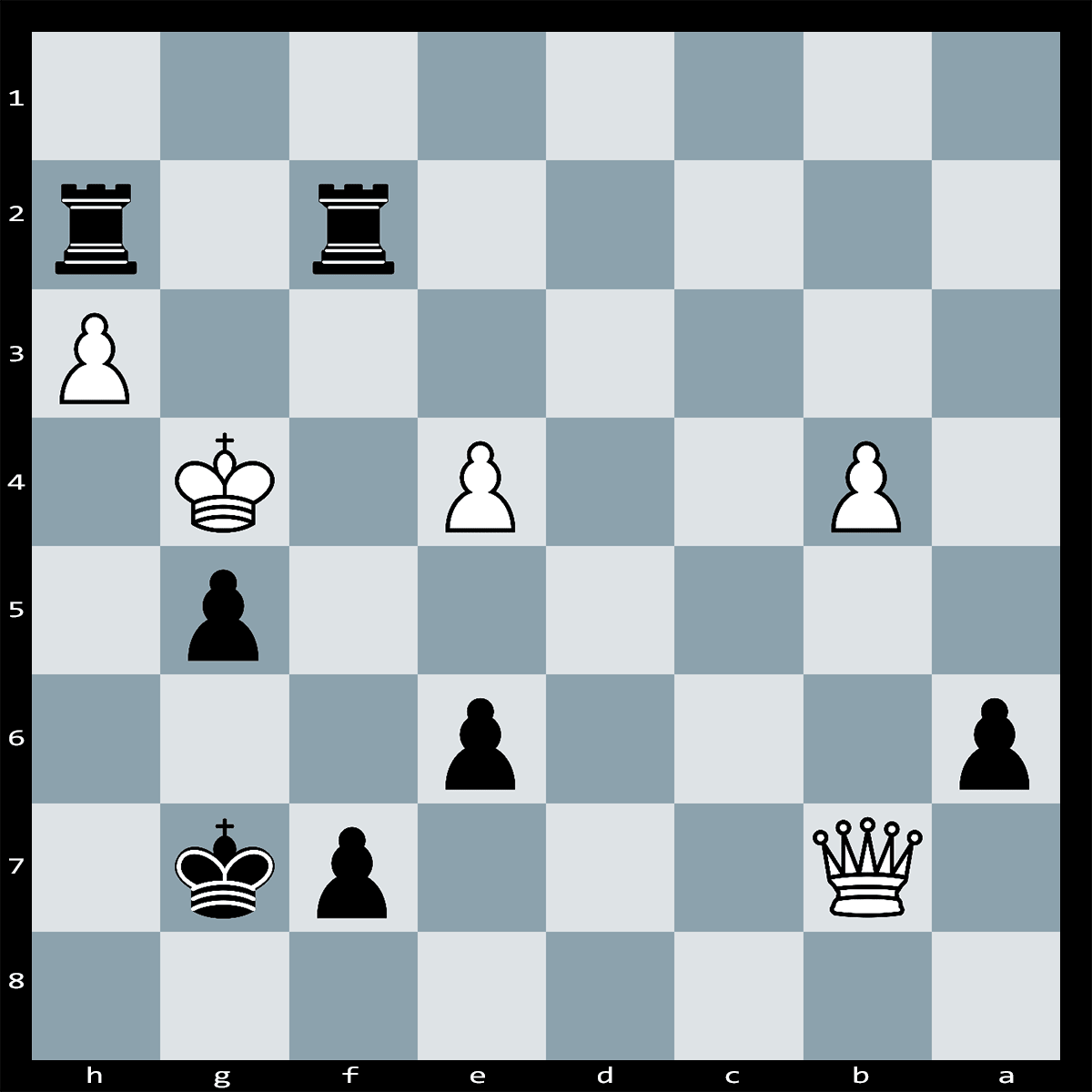 Chess Puzzle #282 | In this position White can force checkmate in four moves. Can you see how this is achieved?