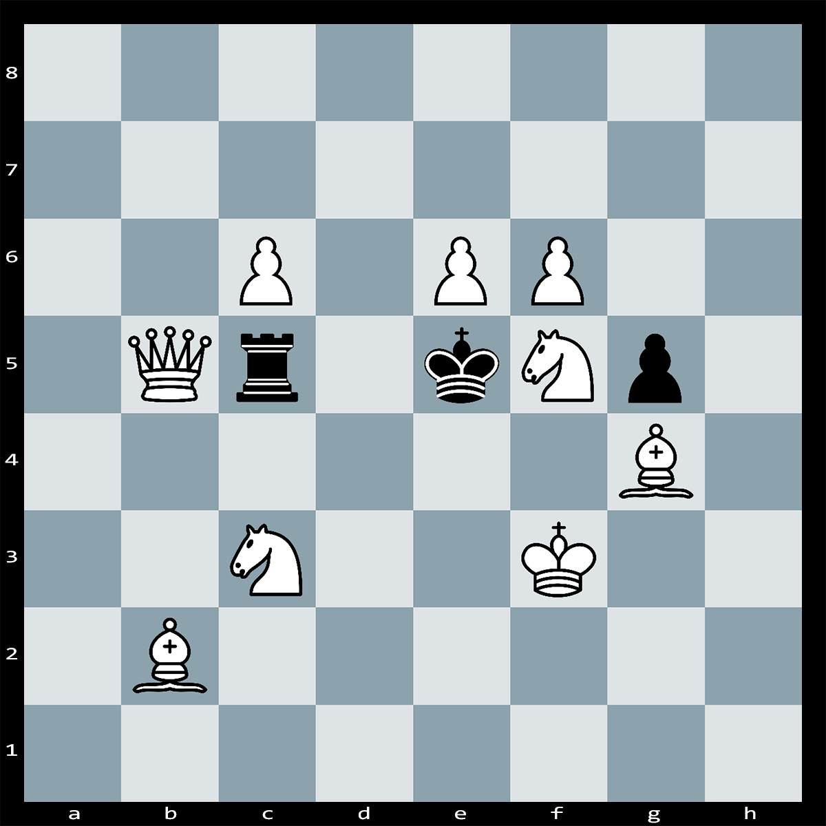 Chess Puzzle #284 | What is White's best move in this position? Mate in Two Puzzle.