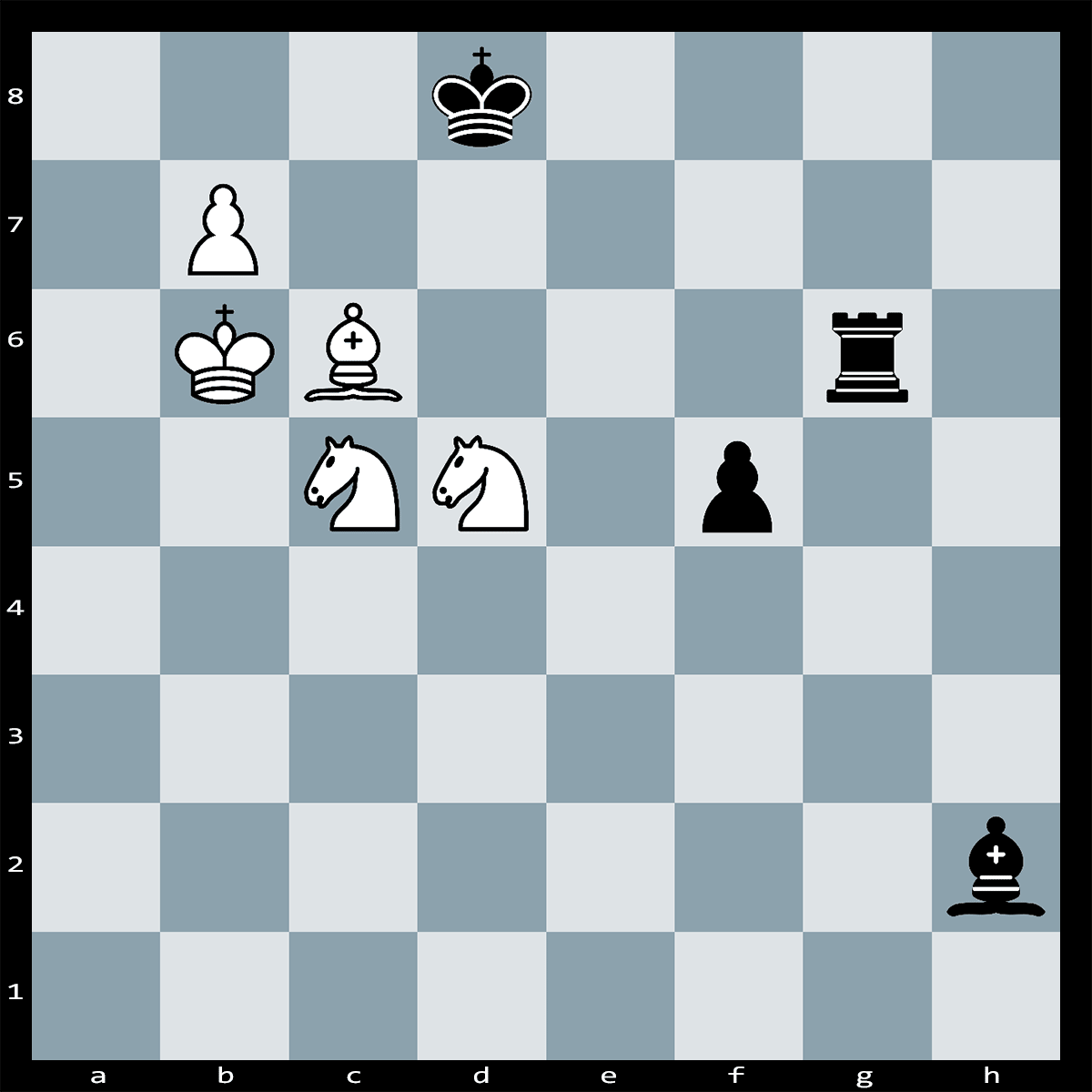 Chess Puzzle #289 | White has a winning move here. Can you spot it? Checkmate in Three Moves, White to Play.