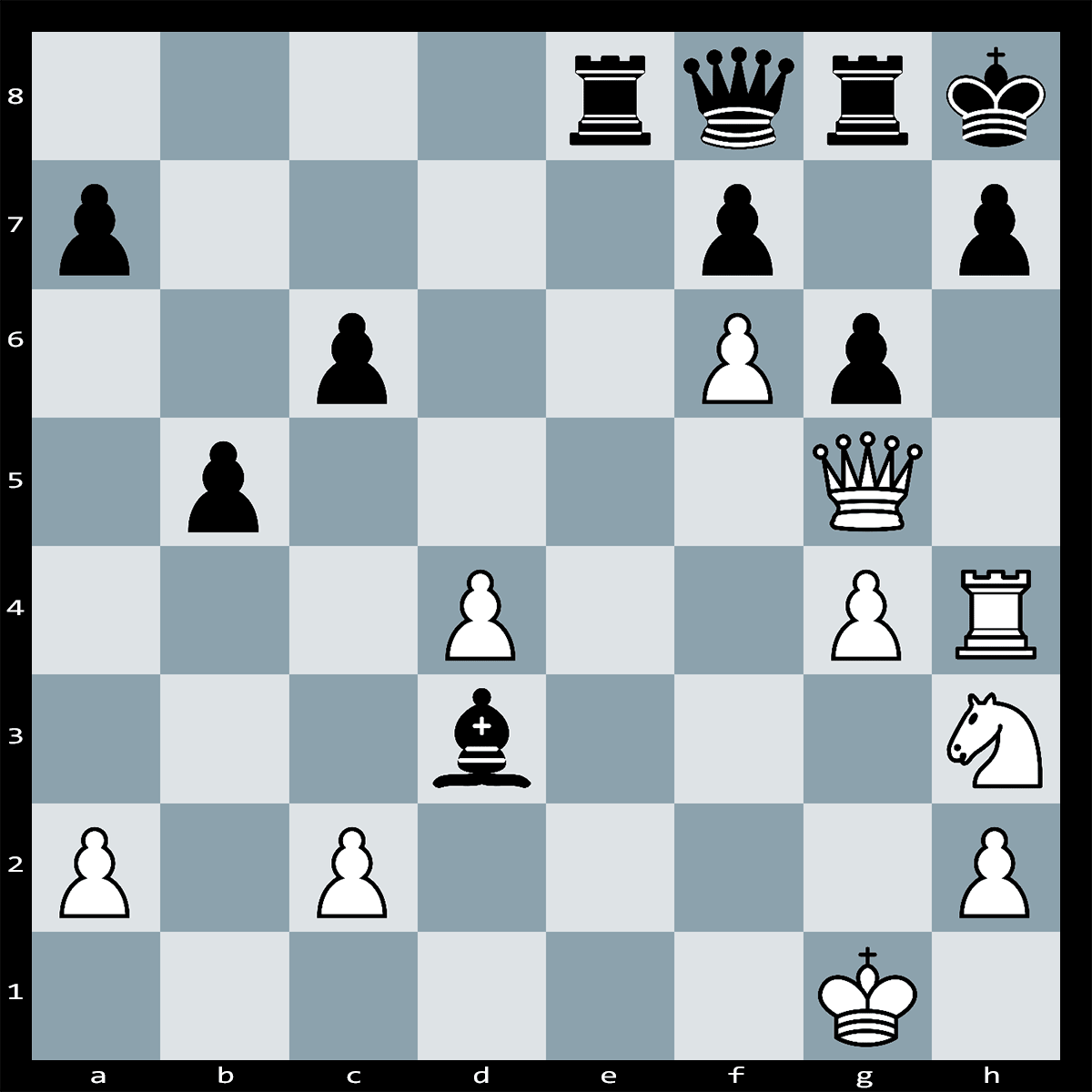 Mate in Four Moves, White to Play - Chess Puzzle #29