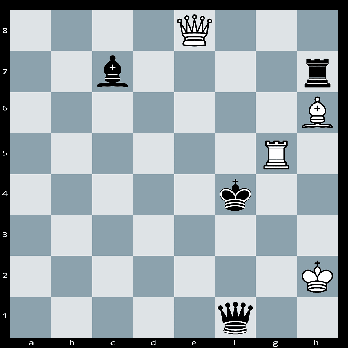 Chess Puzzle #293 | White can't win the game, but What is White's best move to escape with a draw?