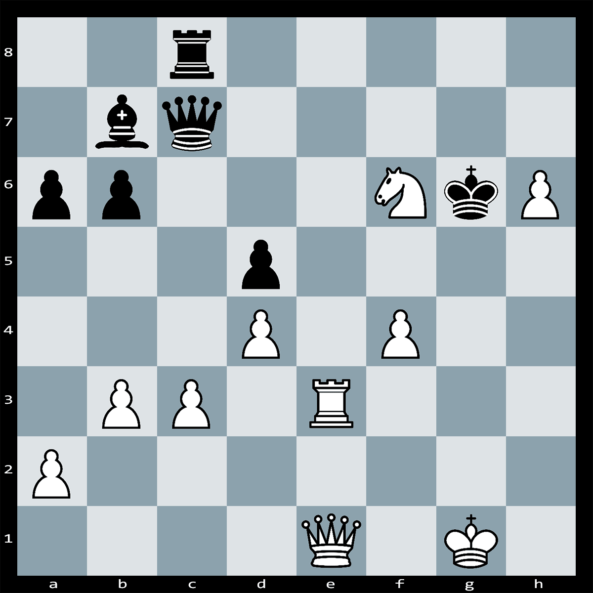 White to Move and Mate in 3 Moves - Chess Puzzle #3
