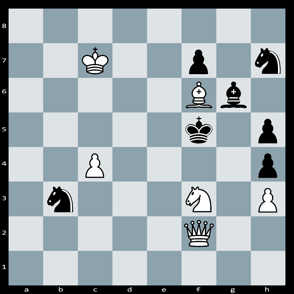Chess Puzzle #303 | Can You Find the Winning Move to This Puzzle? Checkmate in one move, White to Play.