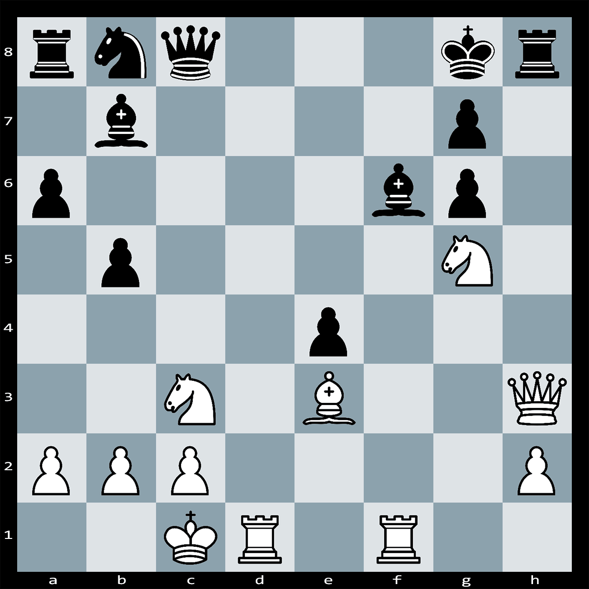 Chess Puzzle #305 | White has a powerful move here, which wins the game. Can you spot it?
