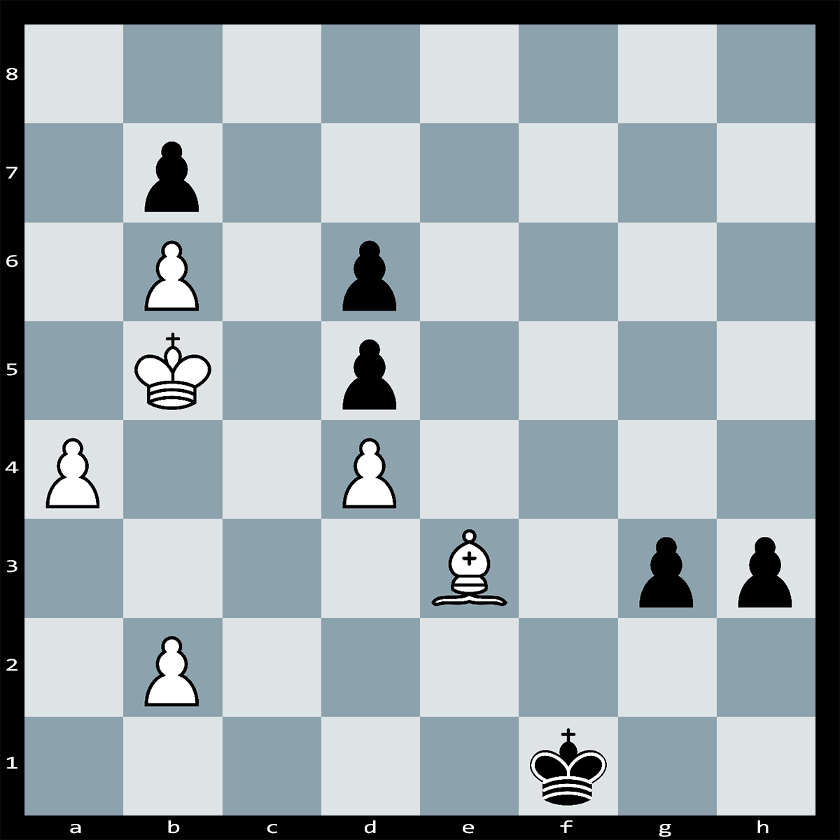 Chess Puzzle #306 | Black has two strong passed pawns. What is White's quickest way to escape with a draw?