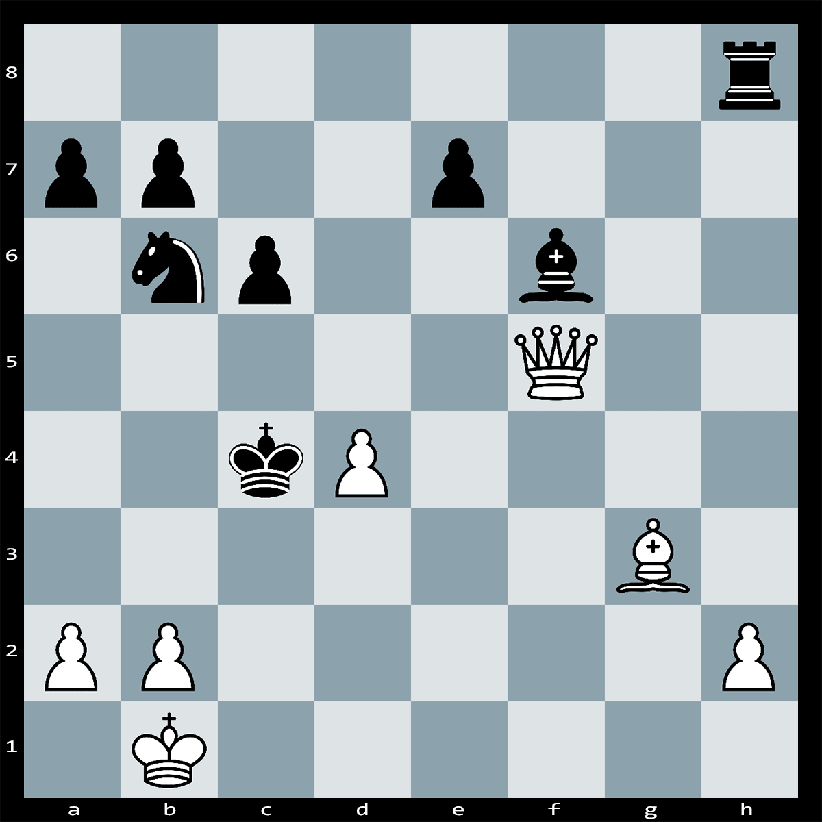 Chess Puzzle #307 | White has a winning position, What is White's quickest route to victory? no more than five moves.