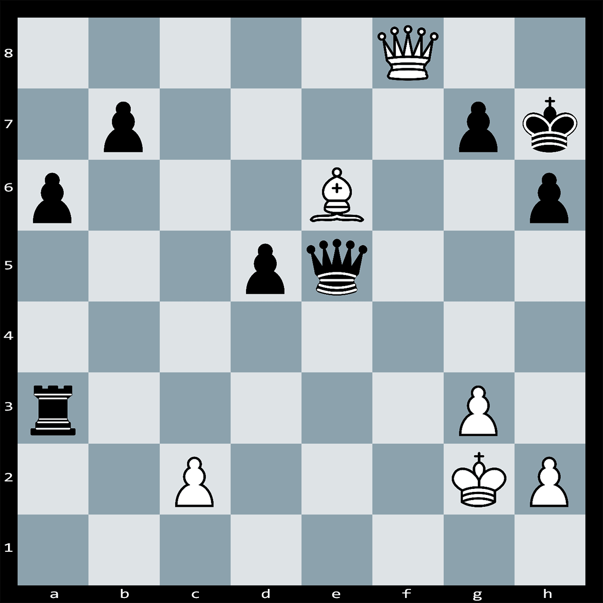 Chess Puzzle #313 | White to Move, Can you find the winning combination to this puzzle? Checkmate in 5 Moves