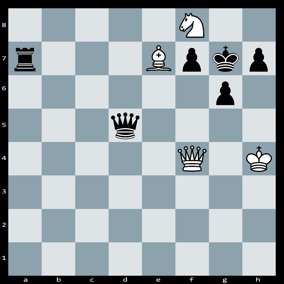 Chess Puzzle #316 | What's the most devastating way for White to conclude the attack? Checkmate in three.