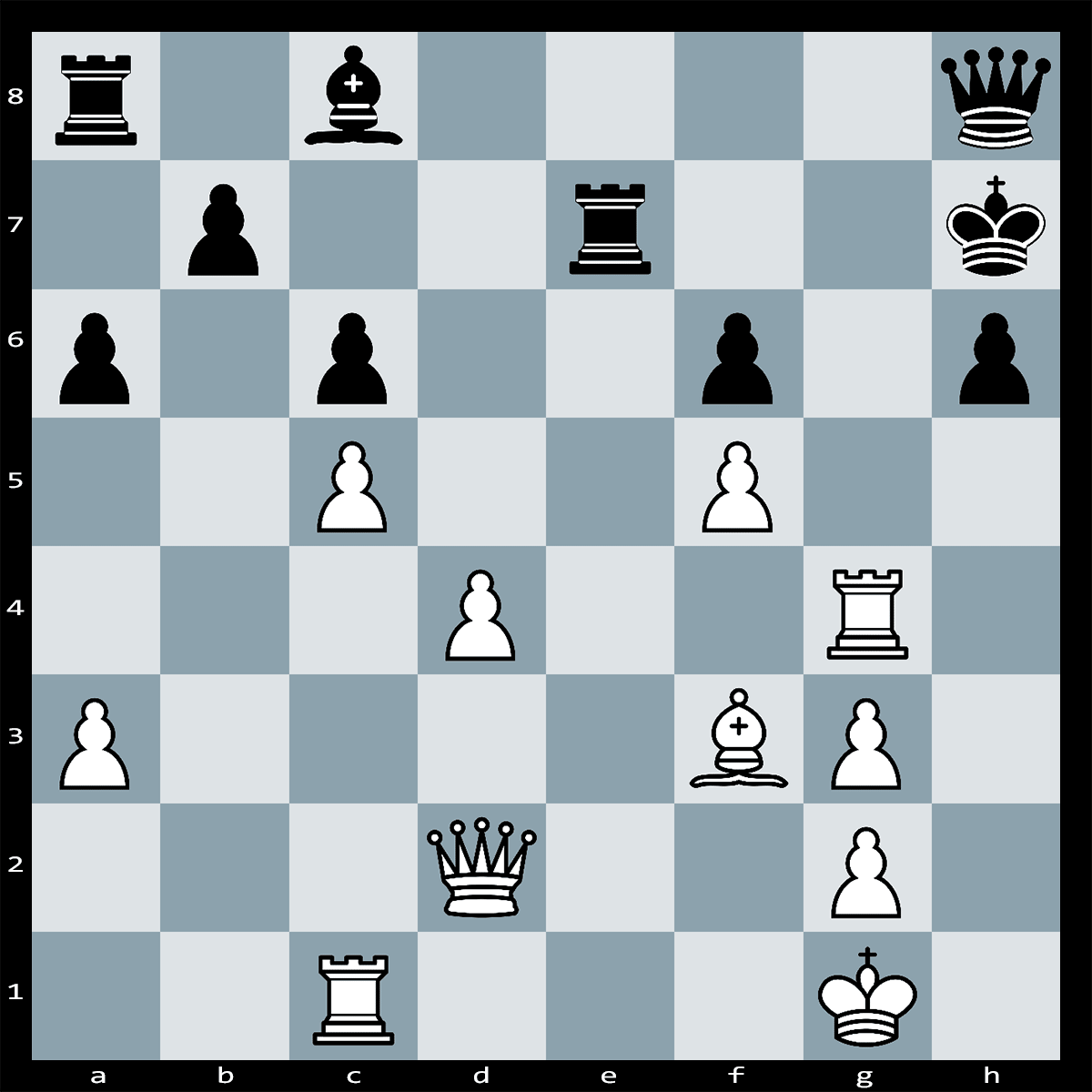 Chess Puzzle #317 | In this position White can force checkmate in six moves. Can you see how this is achieved?
