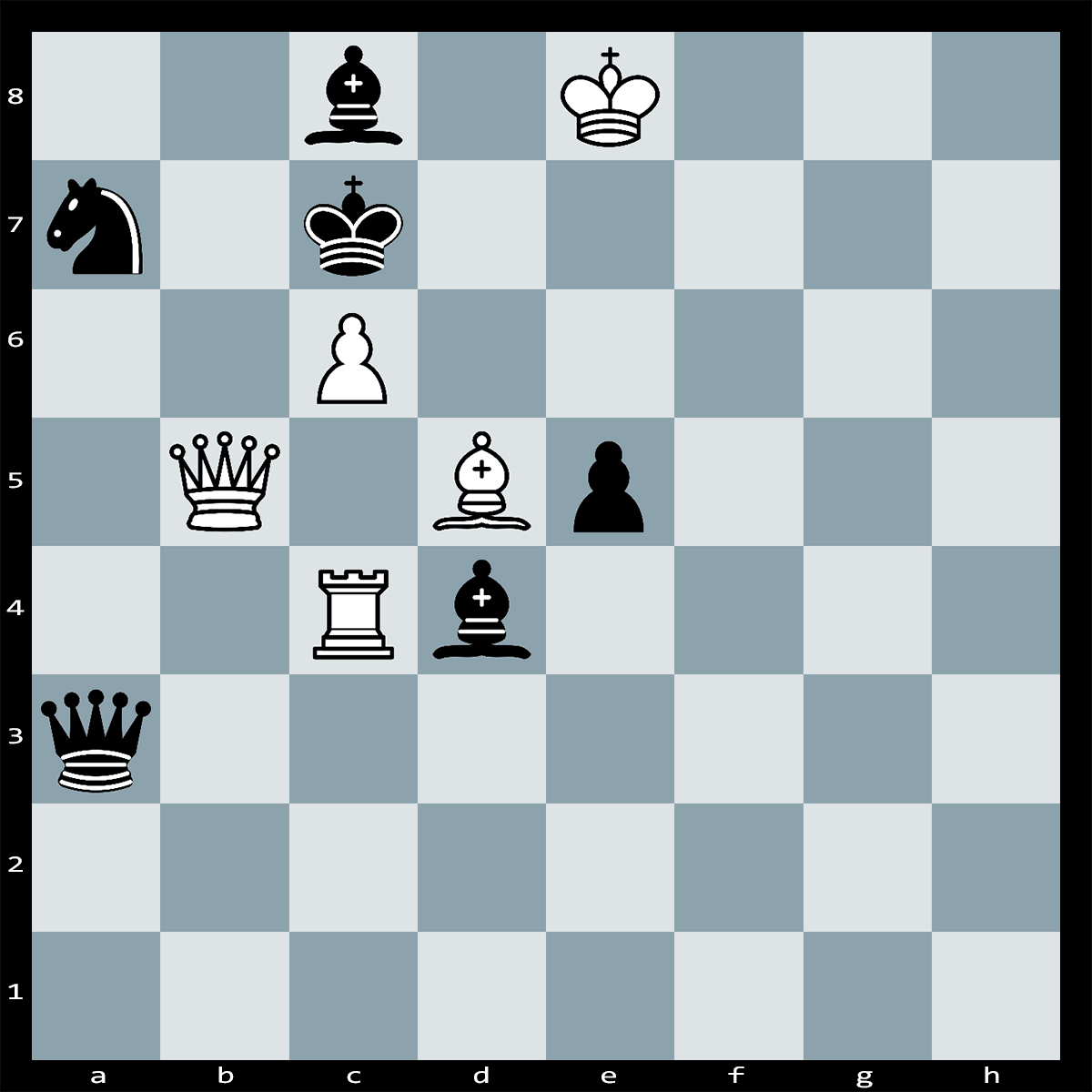 Mate in 2 Moves, White to Play - Chess Puzzle #33