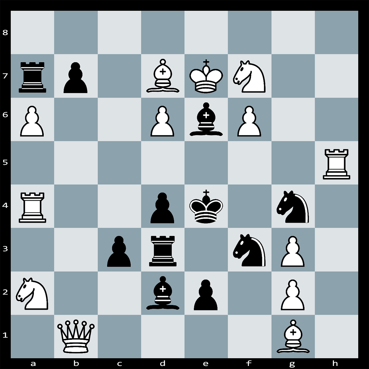 Mate in 3 Moves, White to Play - Chess Puzzle #34