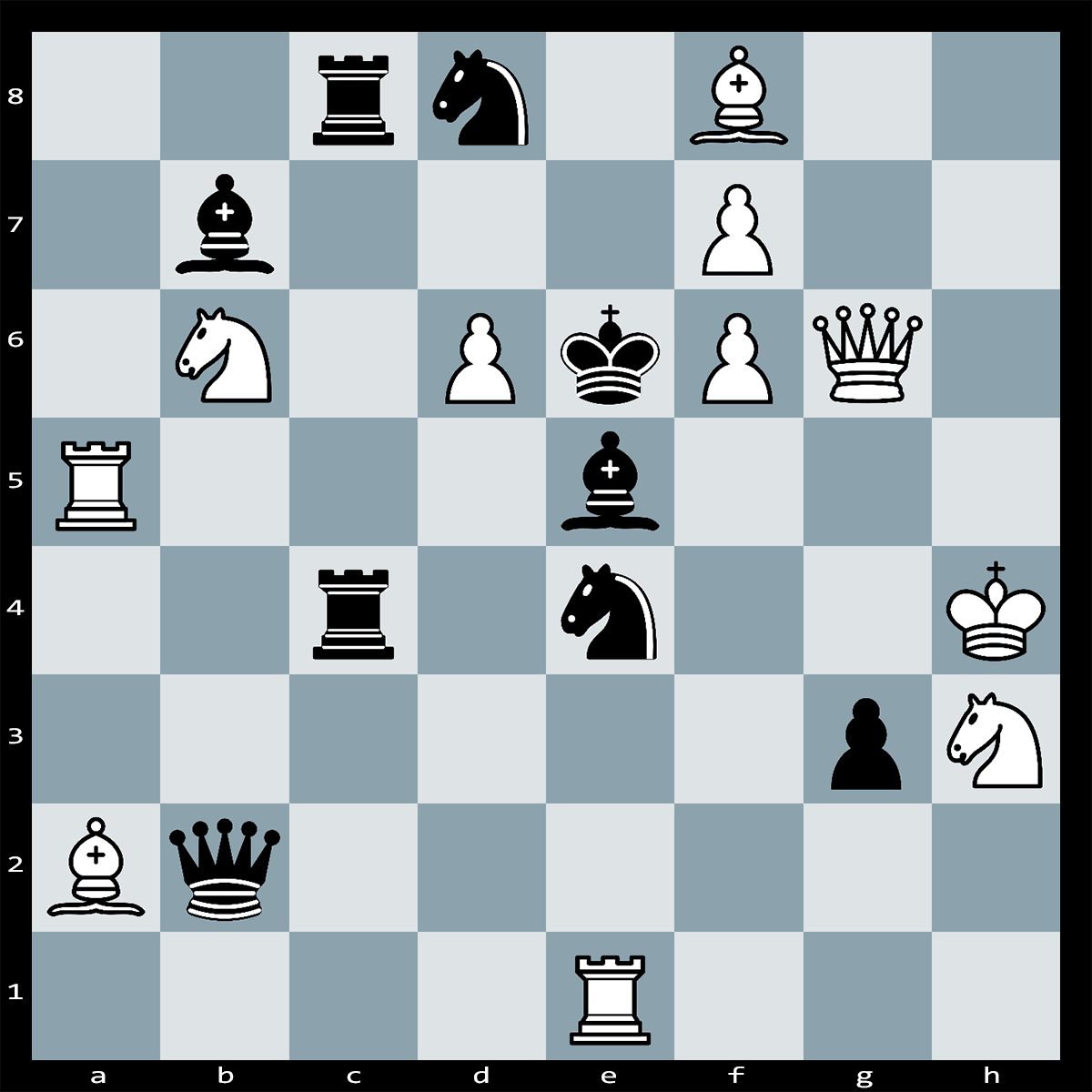Mate in 2 Moves, White to Play
