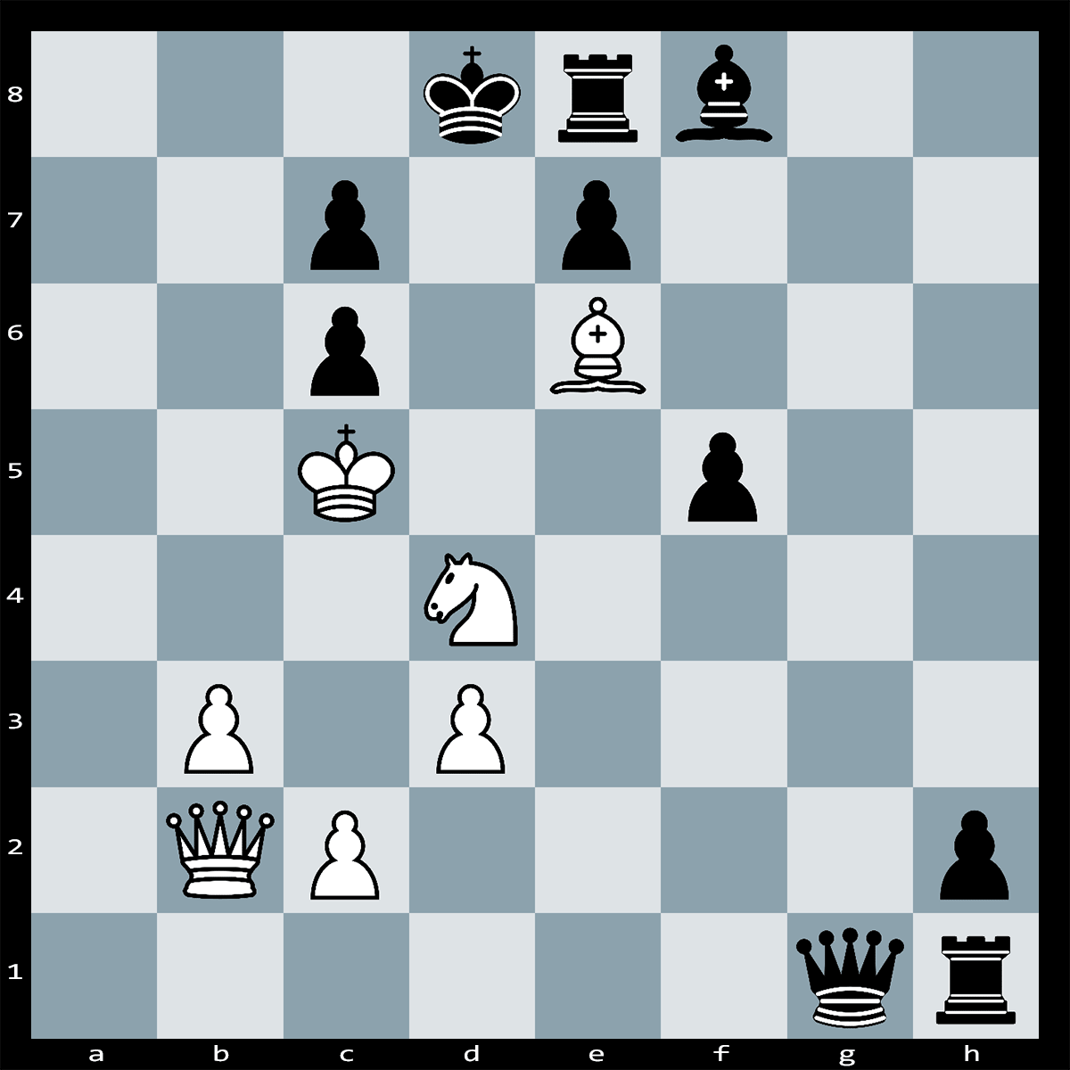 White to Play, Mate in 2 Moves - Chess Puzzle #37