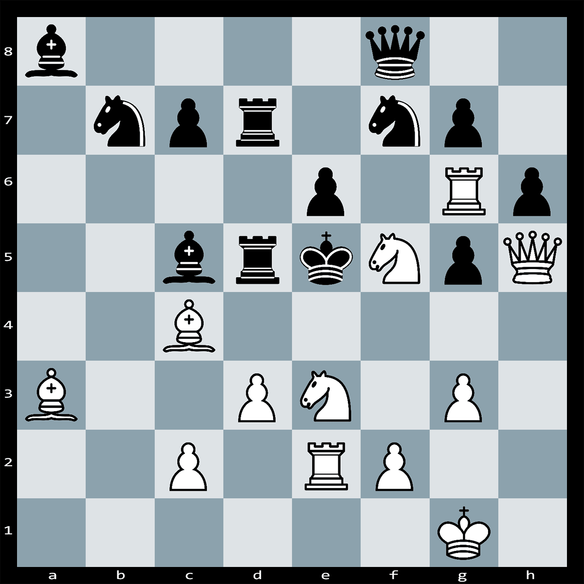 Mate in Two Moves, White to Play - Chess Puzzle #39