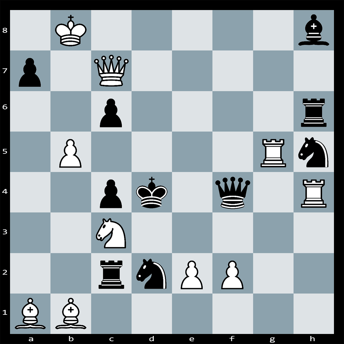 Mate in Two Moves, White to Play - Chess Puzzle #47